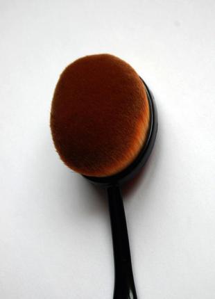Кисть щётка для макияжа oval большая5
