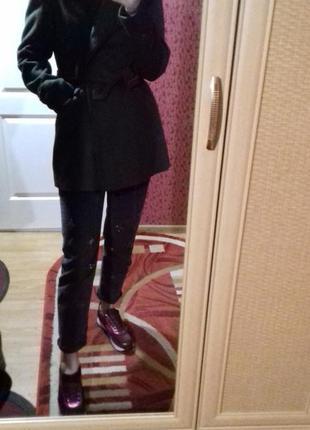 Брендовое  пальто , пиджак top shop в составе шерсть.