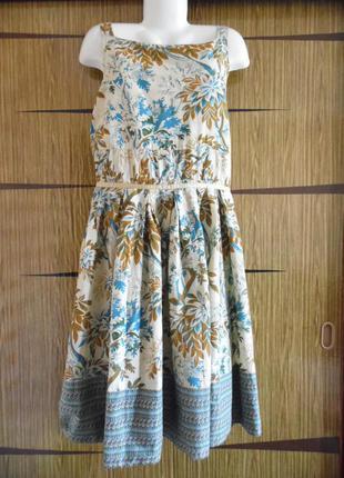 Платье летнее, в стиле кантри, новое. river island. размер 18 – идет на 52+