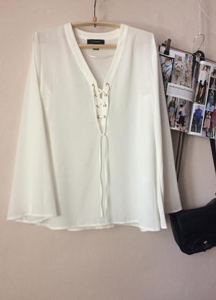 Блуза белая от atmosphere
