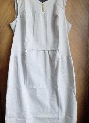 Летнее платье-сарафан тм zemal николаев размер 54