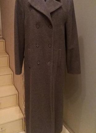 Пальто , кашемир.с утеплителем оверсайз кашемир  hennes collection.раз.16-44