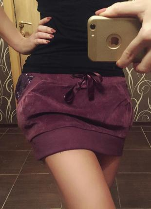 Теплая юбка terranova