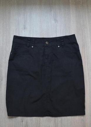 Черная мини-юбка only