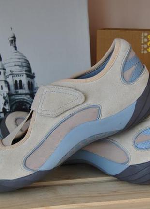 Кожаные кроссовки clarks active air / шкіряні кросівки