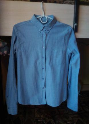 Крутая молодежная рубашка с плотной ткани