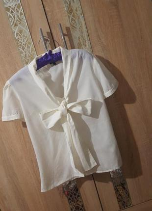 Базовая рубашка asos с бантом