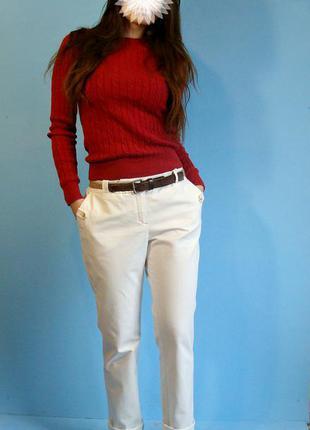 Шикарные брюки чиносы massimo dutti