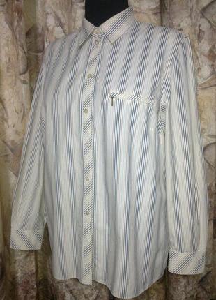 Рубашка fachion clas.герман. 100%коттон, 58р.сток
