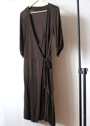 Платье-халат h&m вискоза