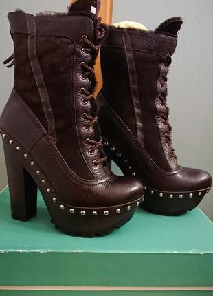 Ботинки, сапоги miu miu, оригинал