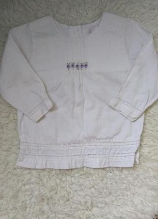 Блузка из натуральной ткани h&m