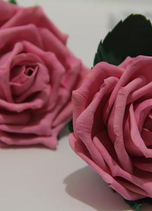 Комплект резиночок з трояндами