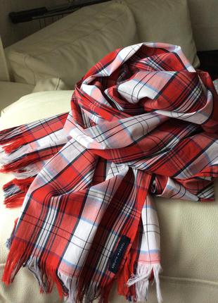 Большой шарф tommy hilfiger