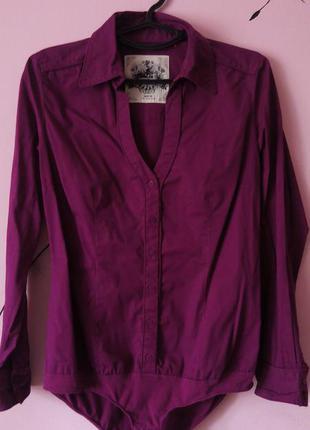 Крутая рубашка-боди qs by s.оliver р m