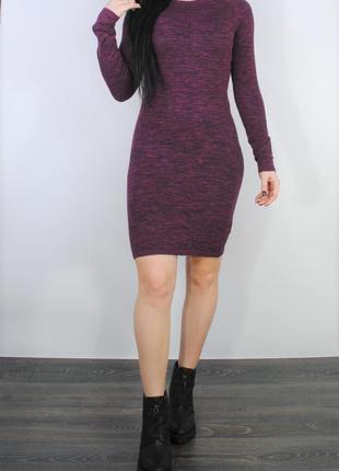 Теплое облегающее платье в1488 atmosphere размер uk10/38 (s/m)