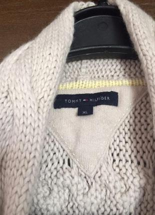 Кардиган кофта tommy hilfigher свитер вязка