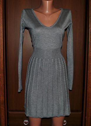 Теплое платье от h&m