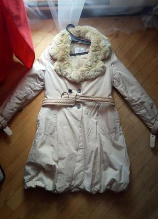 Пуховичок пальто пуховик