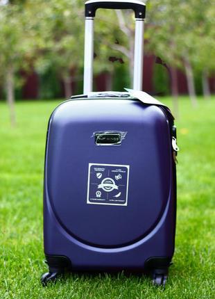 💙 для тебя! 💛 лучшая цена! чемодан пластиковый средний польша валіза середня якісна