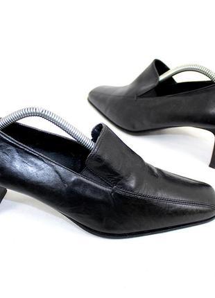Туфли 39 р janet d. германия кожа оригинал