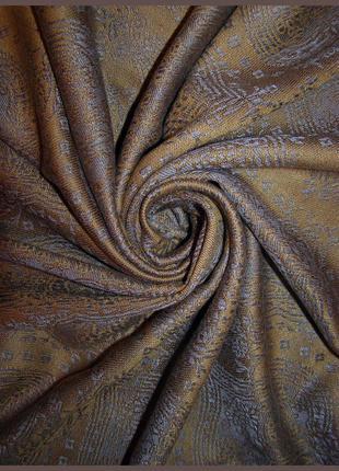 Vip люксовый шарф палантин – пашмина + шелк – двусторонняя – 190х70 см