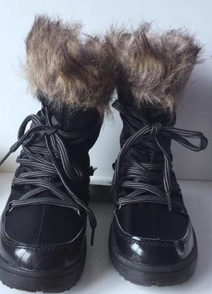 Жіночі зимові чобітки, луноходи (сапоги, ботинки) crane (німеччина)