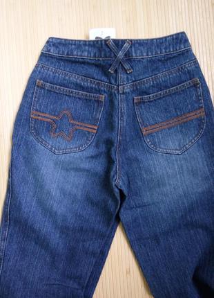 Немецкие синие джинсы клёш qelle4