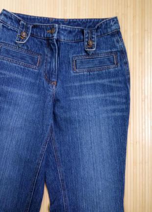 Немецкие синие джинсы клёш qelle5