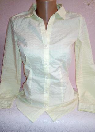 Идеальная рубашечка нежного светлого цвета от h&m