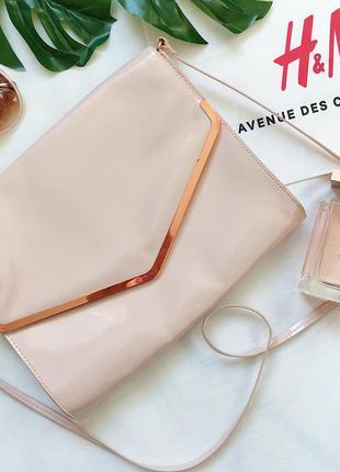 Красивая сумочка клатч h&m