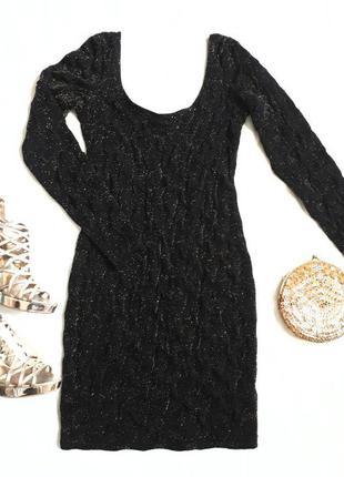 Платье с золотом h&m / вечернее платье h&m