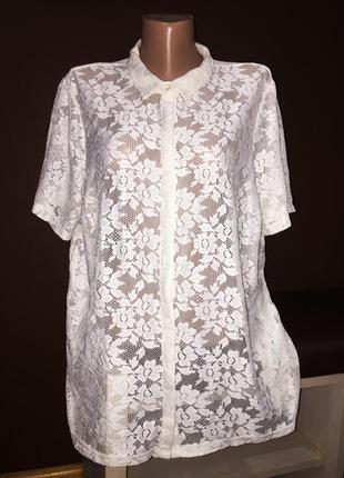 Класна ажурна рубашка, блуза