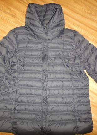 Легкая куртка пуховик violeta by mango р. 50 (l)
