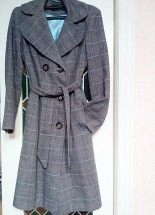 Модное пальто, шерсть