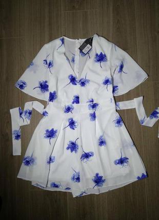 Комбенезон комбинезон костюм ромпер костюм шорты майка красивое летнее