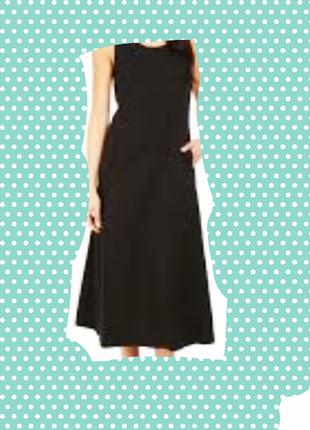 Платье чёрное шифон