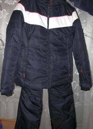 Лыжный костюм (куртка и штаны) немецкой фирмы crane 3000 мм р. l-xl
