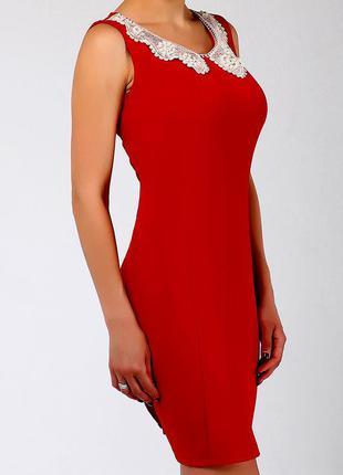 Красивое элегантное платье/ платье с кружевом