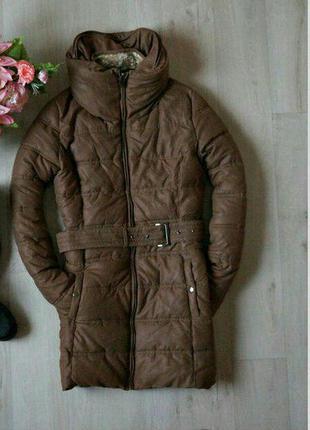 Зимнее очень тёплое пальто