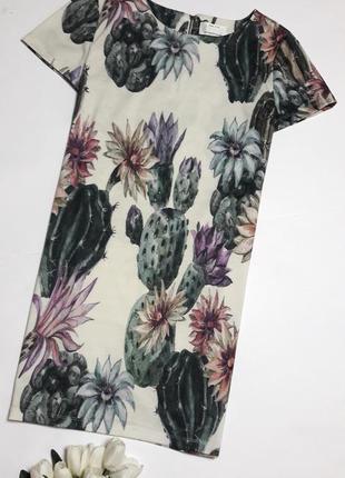 Красивое платье с принтм от only (огромный выбор пиджаков)