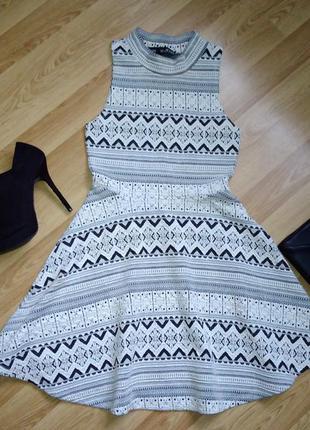 Плаття topshop з оригінальним орнаментом