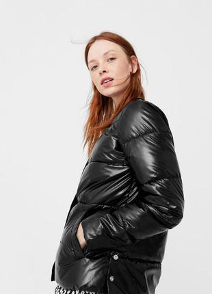 Чудесная, черная куртка, mango, р.xs