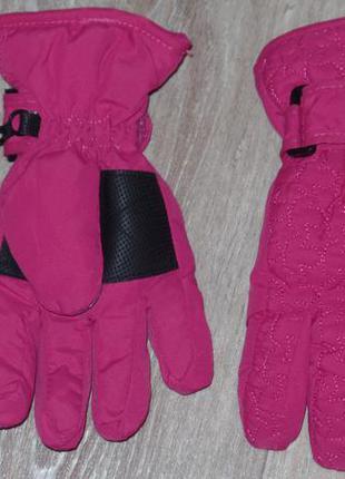 Фирменные теплые перчатки tinsulate 3-6л