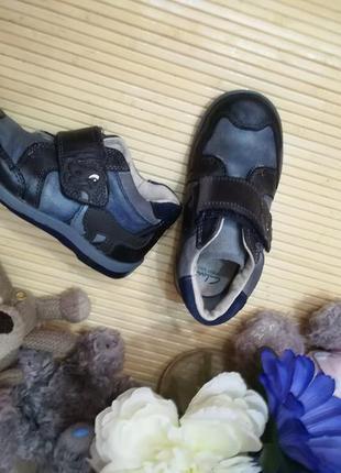 Брендовые ботинки натур кожа р 25 clarks 16см