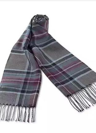 Фланелевый шарф tcm tchibo германия