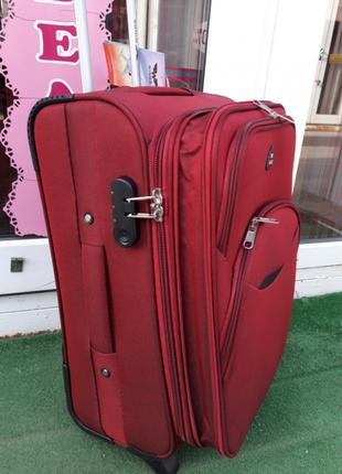 Распродажа! стильный чемодан тканевый 4-х колесный валіза 4-х колесна без передплат3 фото