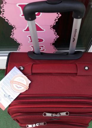 Распродажа! стильный чемодан тканевый 4-х колесный валіза 4-х колесна без передплат2 фото