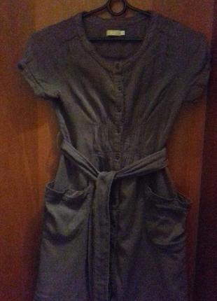 Повсякденне літнє плаття з натуральної тканини