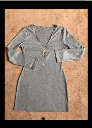 Стильна туніка-плаття с-м як нова